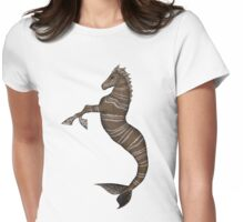 Hippocampus Womens Fitted T-Shirt
