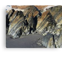 Tortured Geology Canvas Print