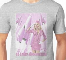 Communism rocks (in pink) Unisex T-Shirt