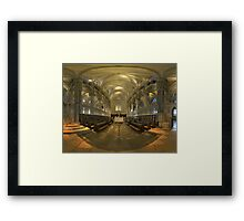 Canterbury Choir Framed Print