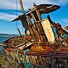 Salen wreck by Shaun Whiteman