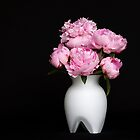 A bouquet of Peonies by Aase