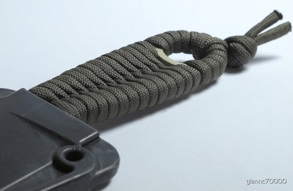 Utility od paracord weave by glennc70000 redbubble for How to make a paracord utility pouch