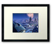 Stargate City Framed Print