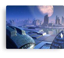 Stargate City Metal Print