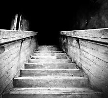 Concrete stairs by Stefan Stuart-Fletcher