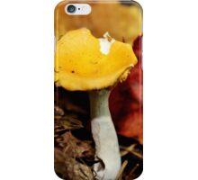 Yellow Cap & White Stalkings iPhone Case/Skin