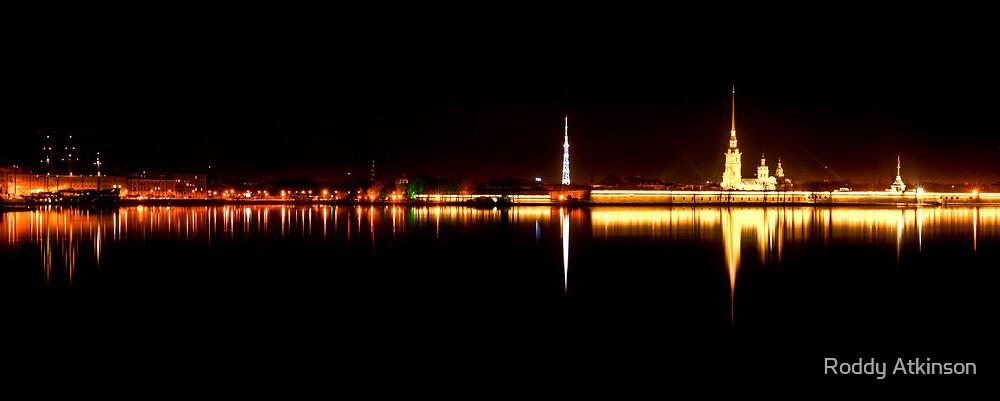 Neva at Night by Roddy Atkinson