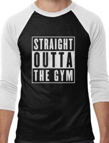 Straight outta thr Gym Men's Baseball ¾ T-Shirt