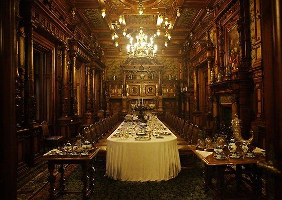The dining room by Béla Török