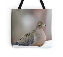 Serene mourning dove Tote Bag