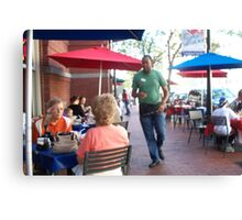 DC Cafe Canvas Print