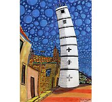 201 - THE LIGHTHOUSE, BLYTH - COLOURED PENCILS - 2008 Photographic Print