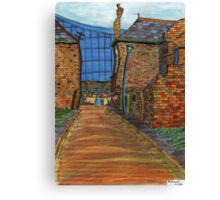 200 - COWPEN QUAY, BLYTH - COLOURED PENCILS - 2008 Canvas Print