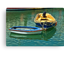 Bow To Bow ~ Lyme Regis Canvas Print