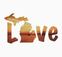 Michigan Love Kids Tee