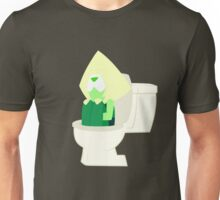 Peridot in the Toilet - Steven Universe ( Catch and Release ) Unisex T-Shirt