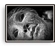 Pasted Half Life Canvas Print