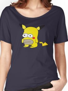 Pikachu + Homer Simpson Women's Relaxed Fit T-Shirt