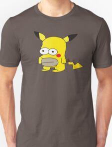 Pikachu + Homer Simpson Unisex T-Shirt