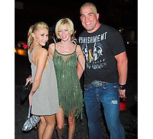Monique Alexander, Jenna Jameson and Tito Ortiz Photographic Print