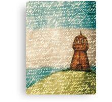 Rusty Lighthouse Canvas Print