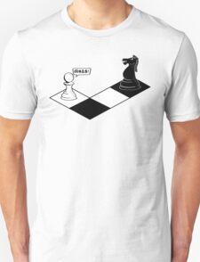 Knight Takes Pawn T-Shirt