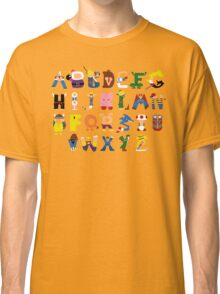Gamer's Alphabet Classic T-Shirt