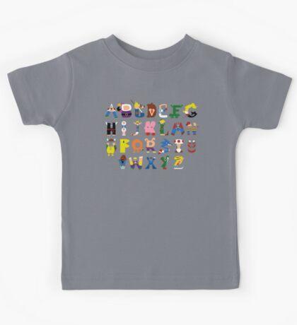 Gamer's Alphabet Kids Tee