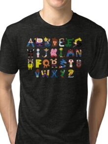 Gamer's Alphabet Tri-blend T-Shirt