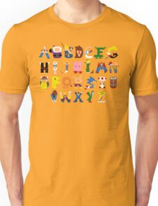 Gamer's Alphabet T-Shirt