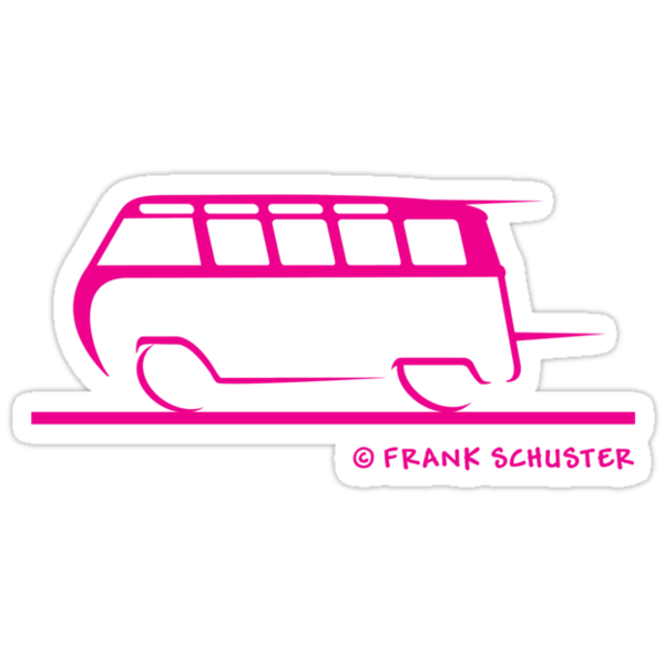 21 Window VW Bus by Frank Schuster