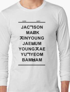 love got7 Long Sleeve T-Shirt