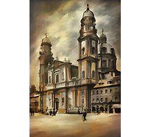 Theatine Church, Munich 1900 Photographic Print
