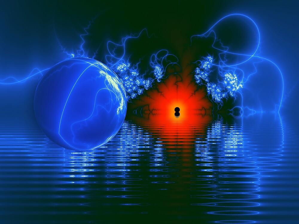 Strange Lights on the Lake by Pam Blackstone