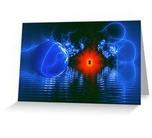 Strange Lights on the Lake Greeting Card
