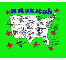 Amuricuh new color print Photographic Print