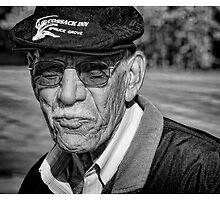 Portrait of a Seasoned Golfer by peaceofthenorth