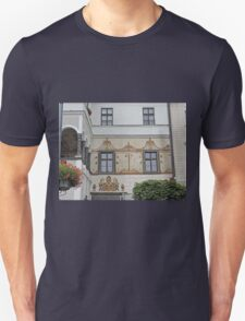 Facade, home of G.D. Thomas Beniczky Unisex T-Shirt