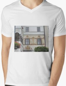Facade, home of G.D. Thomas Beniczky Mens V-Neck T-Shirt