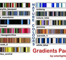 My Gradients Pack by sstarlightss