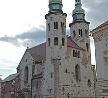 St Andrews chuch, Krakow, Poland by Margaret  Hyde