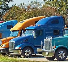 Big Rigs by Sheryl Gerhard