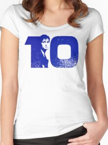 10 Women's Fitted Scoop T-Shirt
