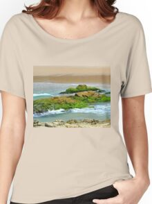 Moss on the Rocks. Women's Relaxed Fit T-Shirt