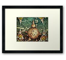 Temples Of Syrinx Framed Print