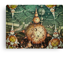 Temples Of Syrinx Canvas Print