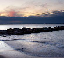 Sunset On The Bay by Tamara Dandy