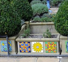 Magic Maze Garden Feature. by Maureen Dodd