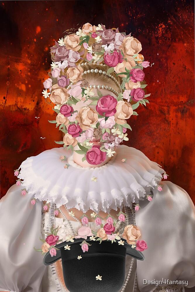 flower -mask by Design4fantasy